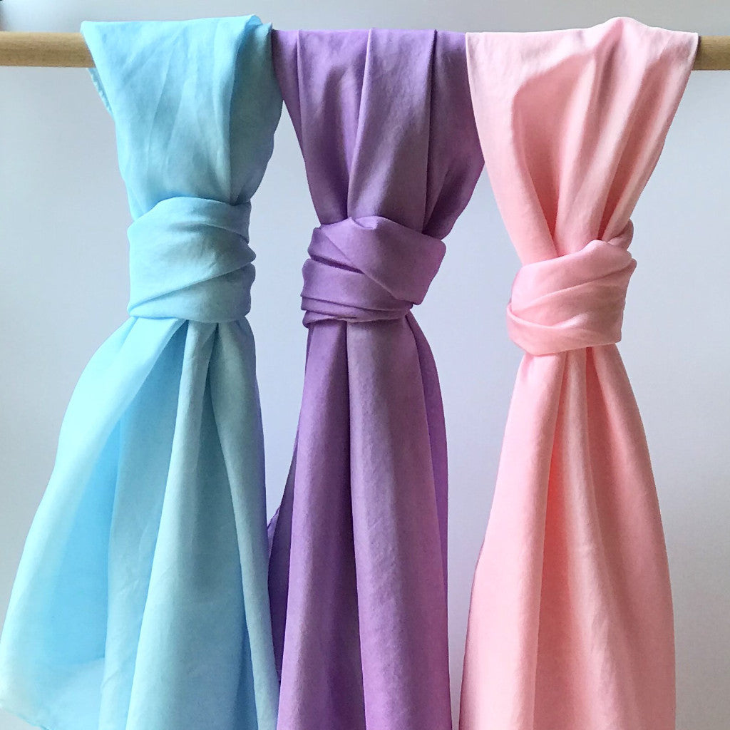 Play Silks - 3piece Light blue, Purple and Pink set