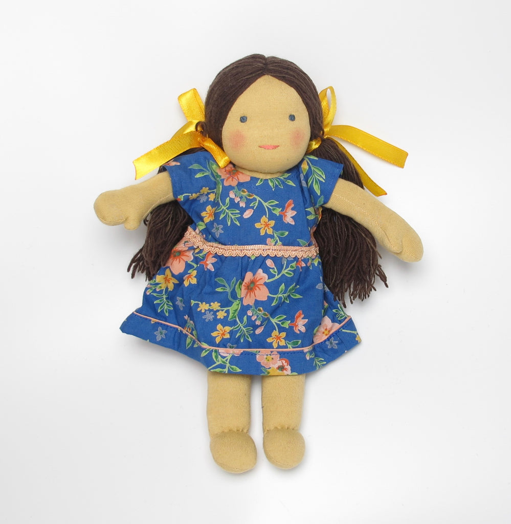 Tibetian Waldorf Doll Rose - small