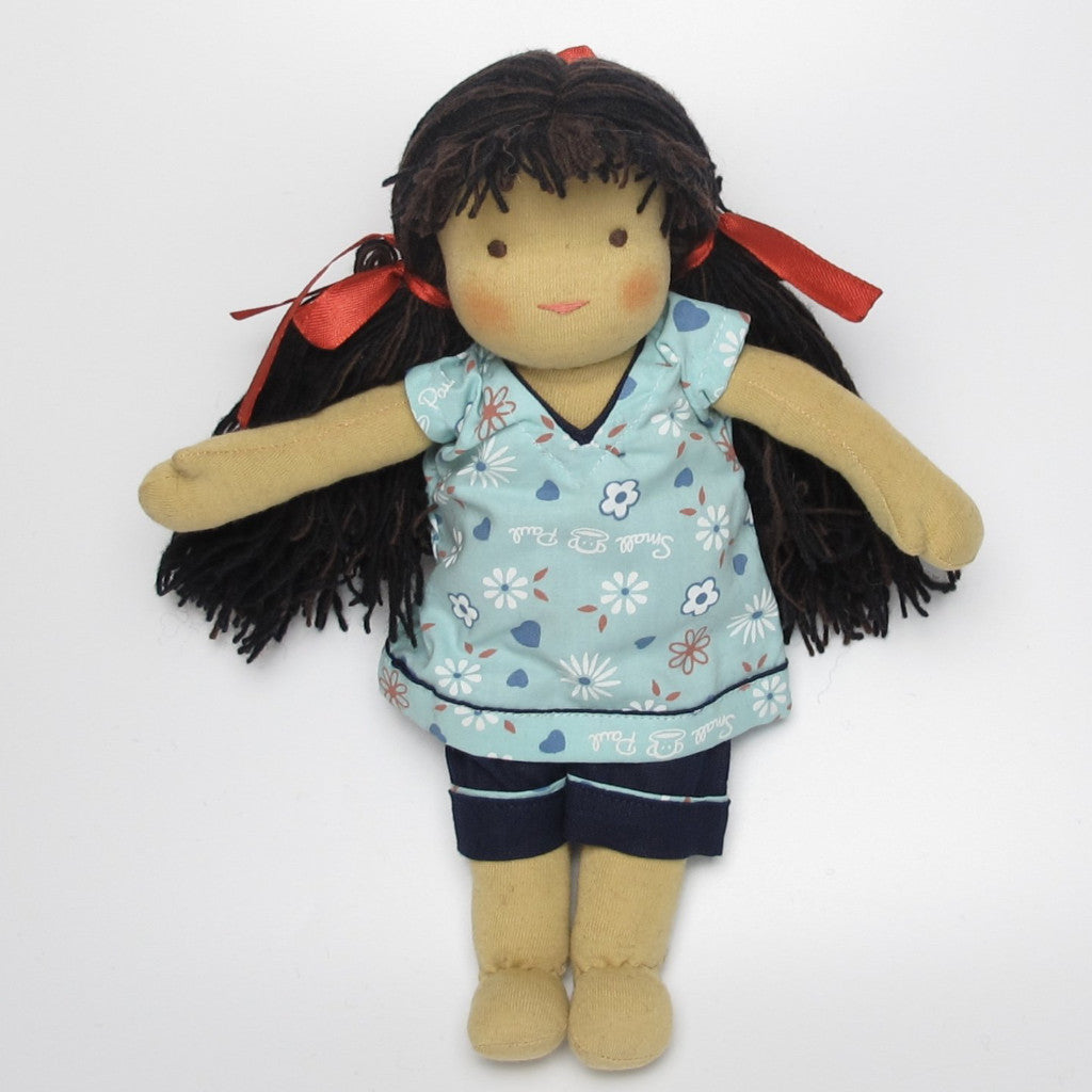 Tibetian Waldorf Doll Peggy - small