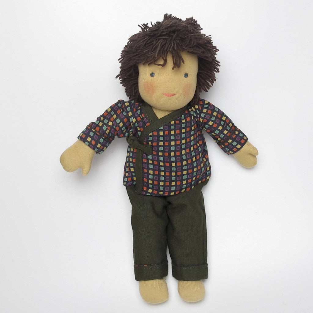 Tibetian Waldorf Doll Alex - small
