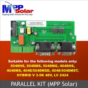 MPP Solar Parallel kit for Hybrid LV 2424 and PIP 48v series inverters - FREE SHIPPING!!