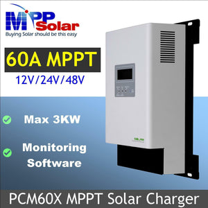 MPP Solar PCM60X Charge Controller - FREE SHIPPING!!!