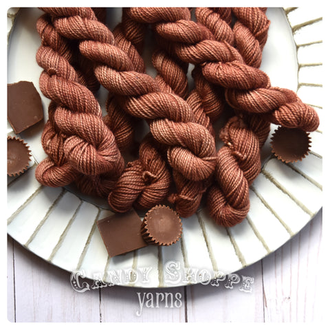 Gumball Mini Skein -Chocolate