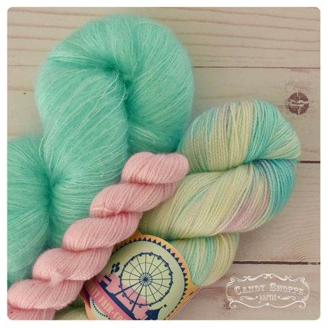 Agrumes Shawl Kit - Cotton Candy