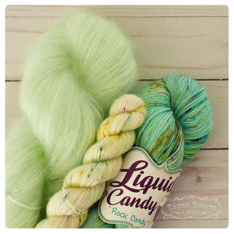 Agrumes Shawl Kit - Rock Candy