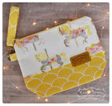 Carousel Zippered Project Bag