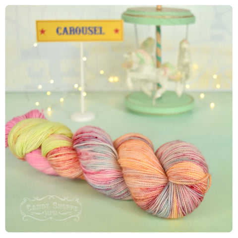 Carousel Liquid Candy - Fingering Weight