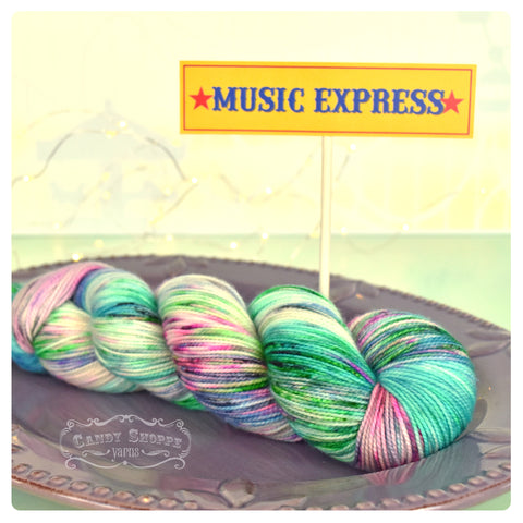 Music Express Liquid Candy - Fingering Weight