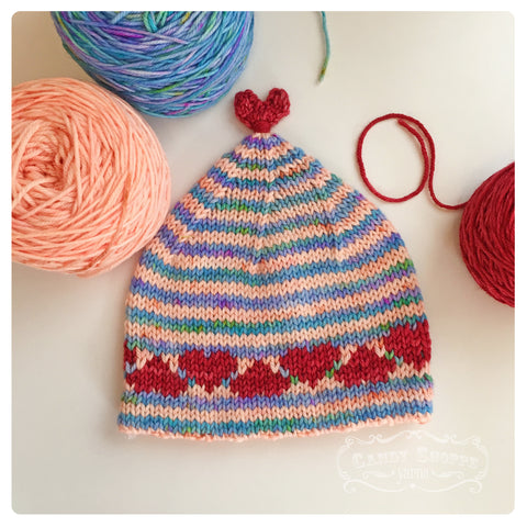Love and Hearts Hat Kit