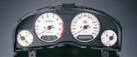 R34 GTR Nismo Combination Meter Assembly(White)