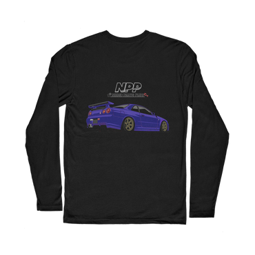 Midnight Purple R34 Classic Long Sleeve T-Shirt