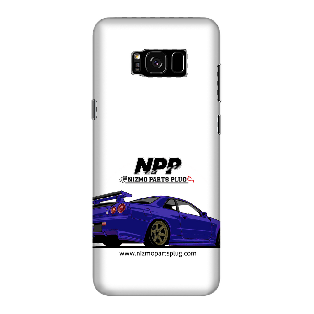 Midnight Purple R34 Fully Printed Glossy Phone Case