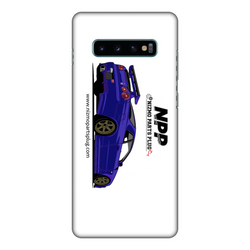 Midnight Purple R34 Fully Printed Matte Phone Case