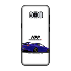 Midnight Purple R34 Fully Printed Tough Phone Case