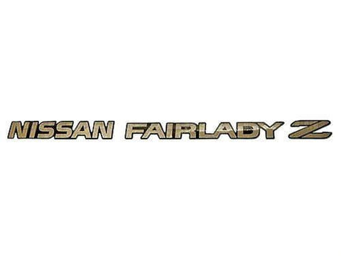 "300ZX ""Fairlady Z"" Rear Trunk Decal"