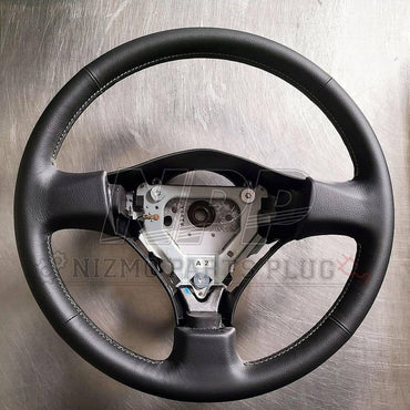 R34 Skyline GTR V-spec Nür / M-Spec Nür Steering Wheel Assembly