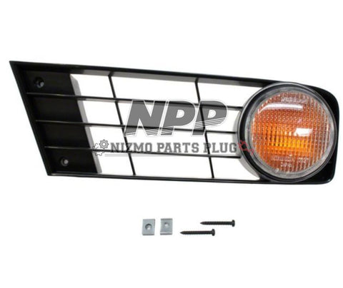 S13 Type X Left Amber Signal Light Assembly