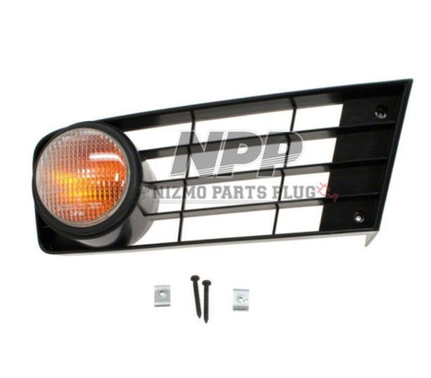 S13 Type X Right Amber Signal Light Assembly