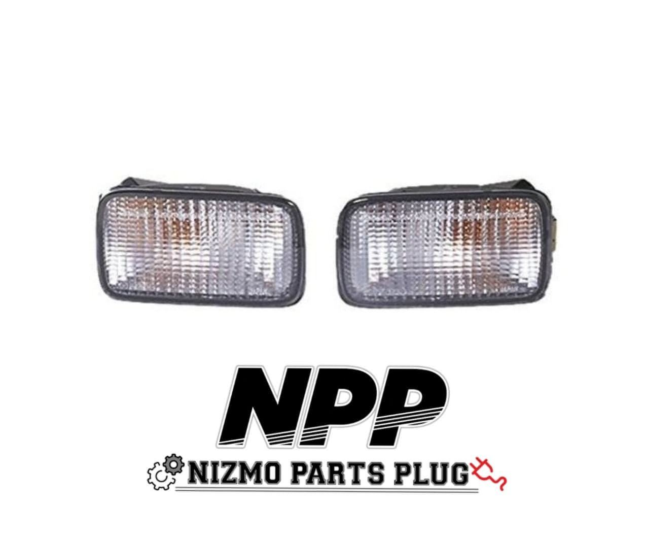 R34 GTR Nismo Clear Turn Signal Indicator Lamps Set