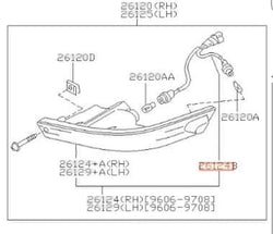 S14 JDM Kouki Turn Signal Indicator Harness
