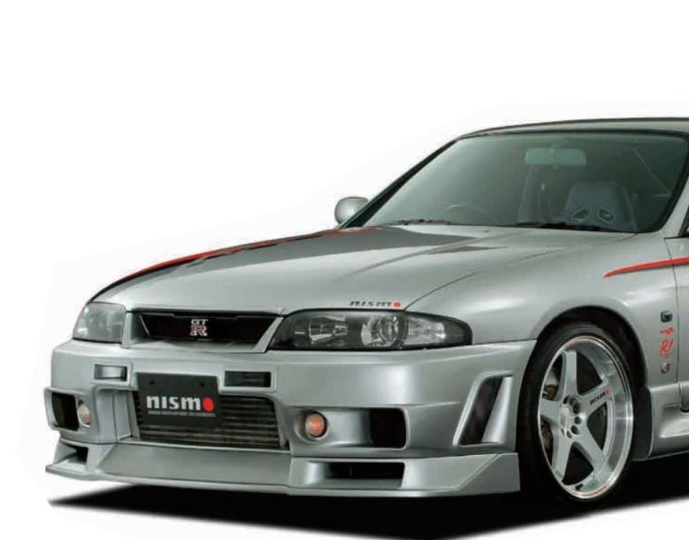 R33 GTR Nismo 400R Version 2 Front Lower Lip Splitter