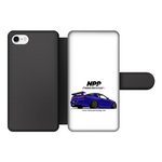 Midnight Purple R34 Front Printed Wallet Cases