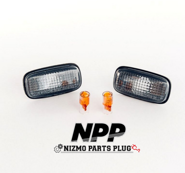 (LATE MODEL) S15/R34 GTR Nismo Smoked Corner Light Kit