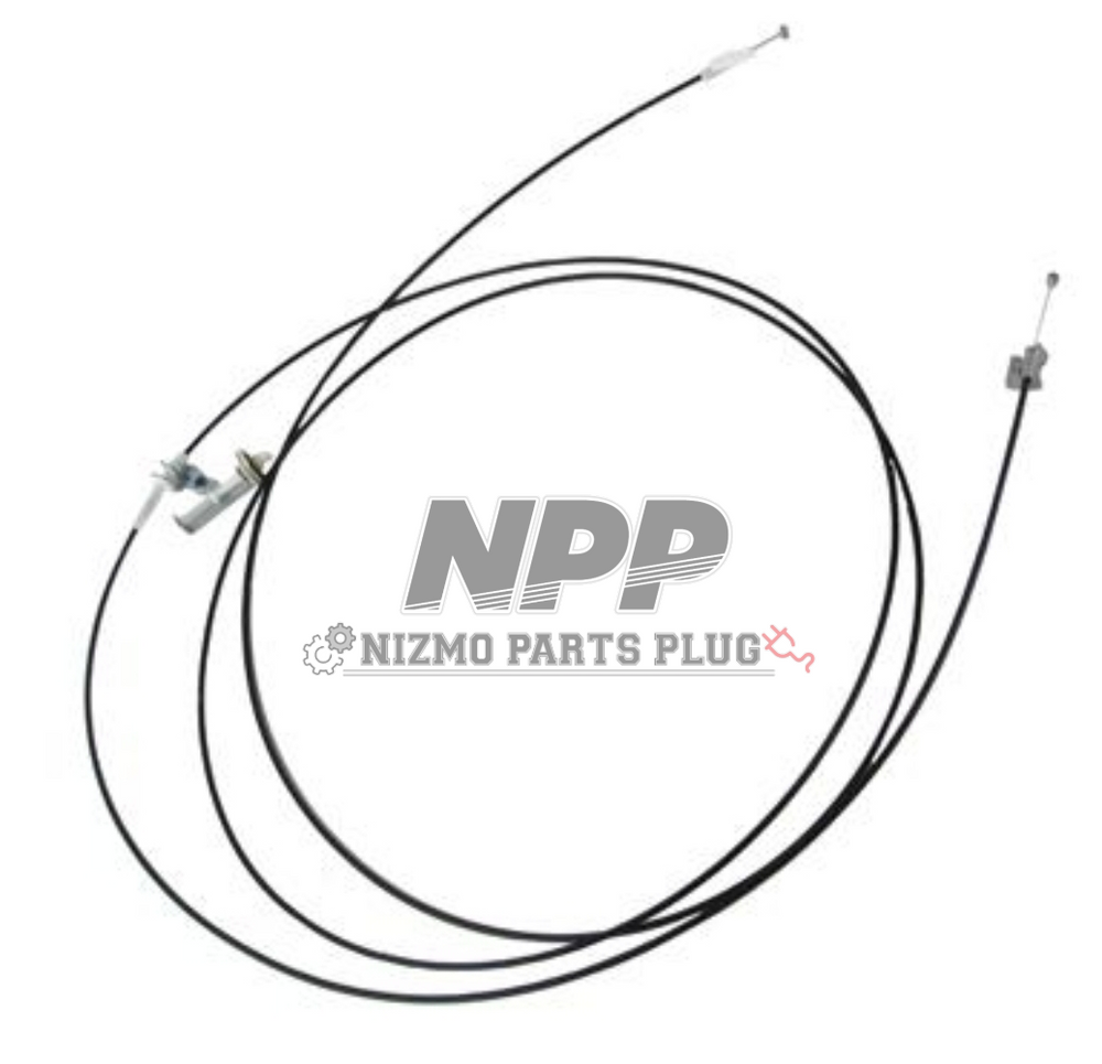 OEM Nissan S13 240sx Trunk & Fuel Release Door Cable
