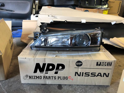 S14 240sx Kouki LH Headlamp Assembly