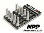 Nismo Extended Front Wheel Studs 13x60mm set of 10