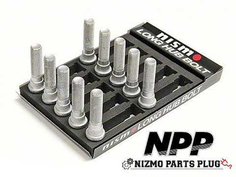 Nismo Extended Rear Wheel Studs 14.3x60mm set of 10