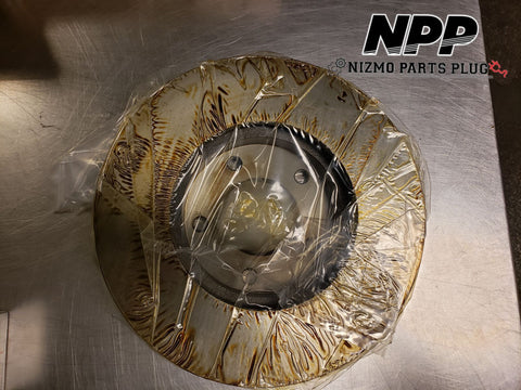 OEM Nissan Front Z32 300zx 91-96 Rotor NA/TT