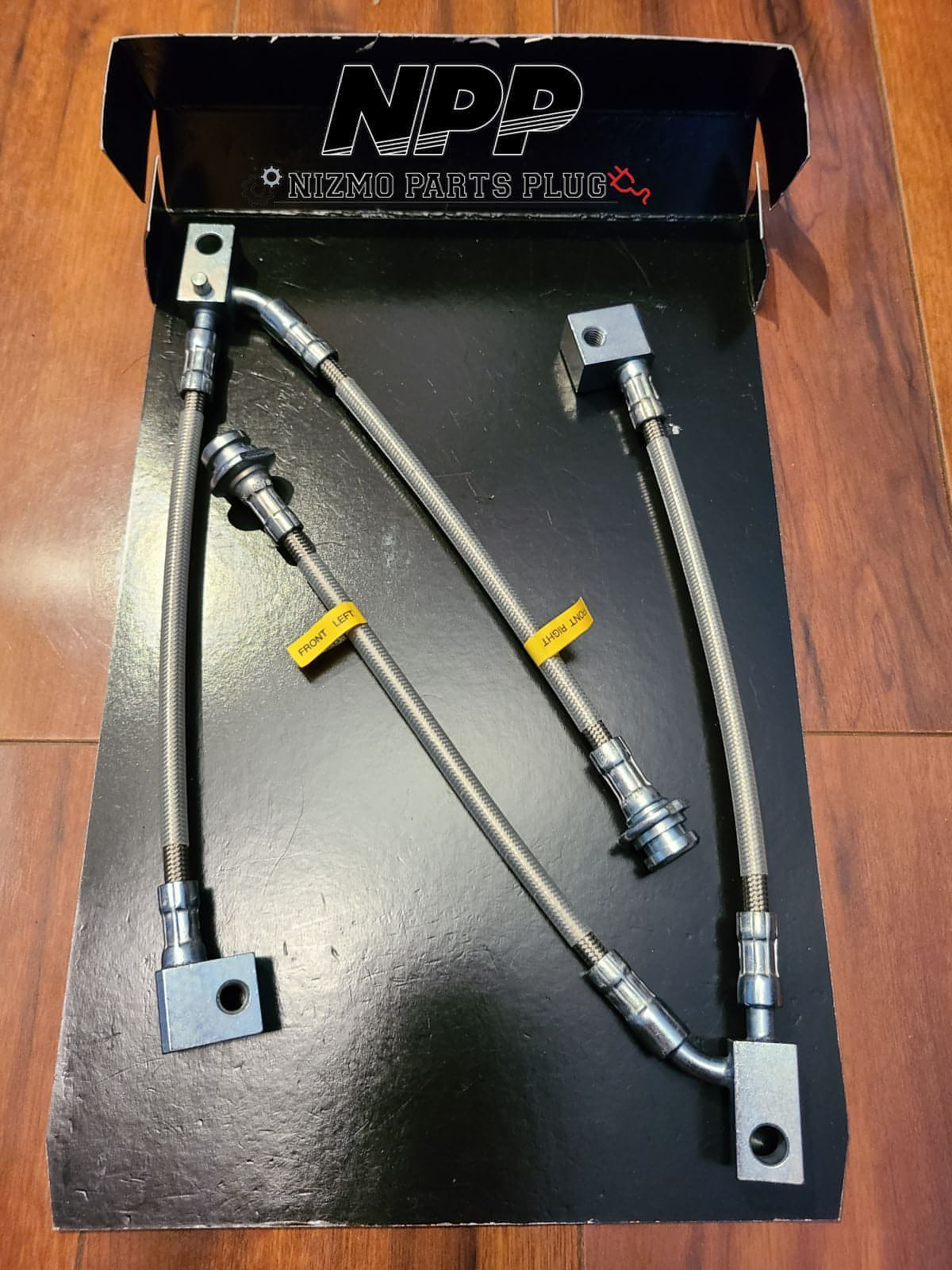 Nismo R32 GTR Stainless Steel Brake Hose Kit