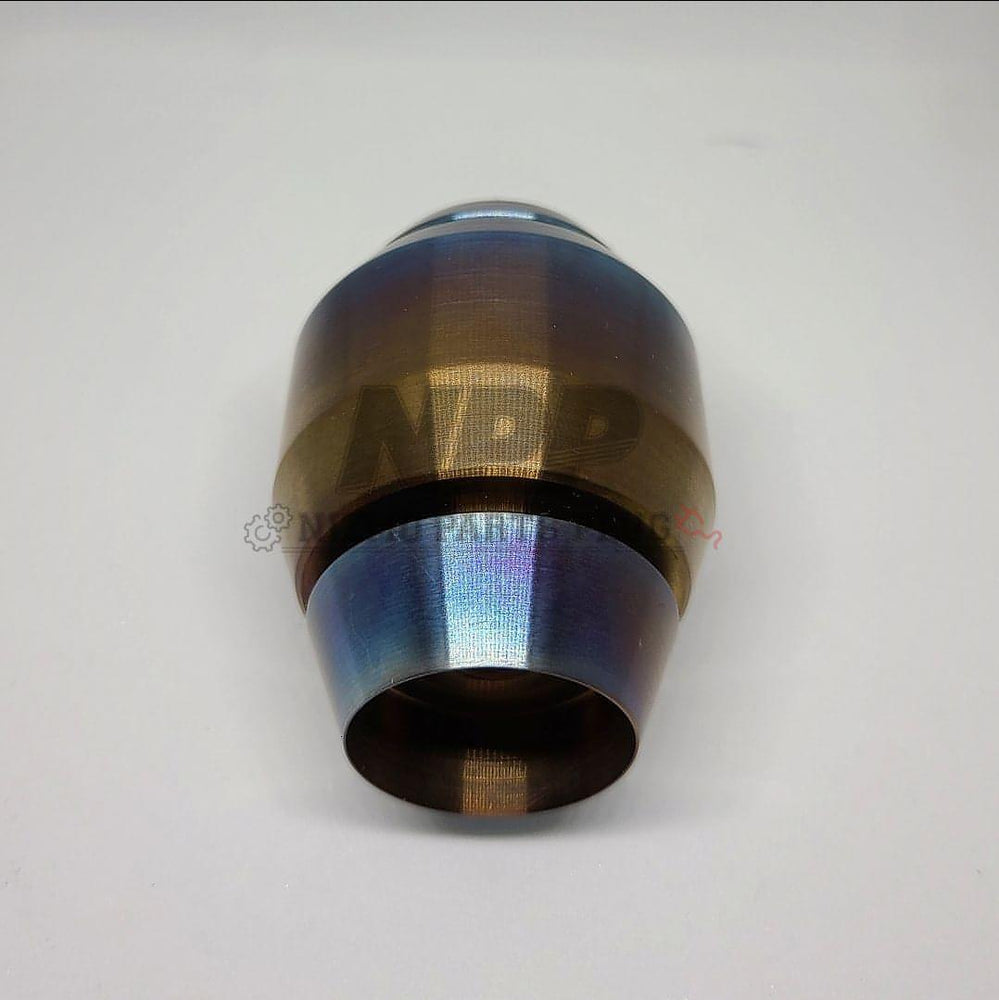 NPP X BREAKER SPEC BNR34 GTR HEAT ANODIZED SHIFT KNOB