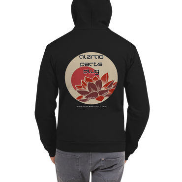 NPP Lotus Flower Hoodie (Zip-up)