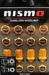 NISMO DURALUMIN LUG AND LOCK SET (GOLD)