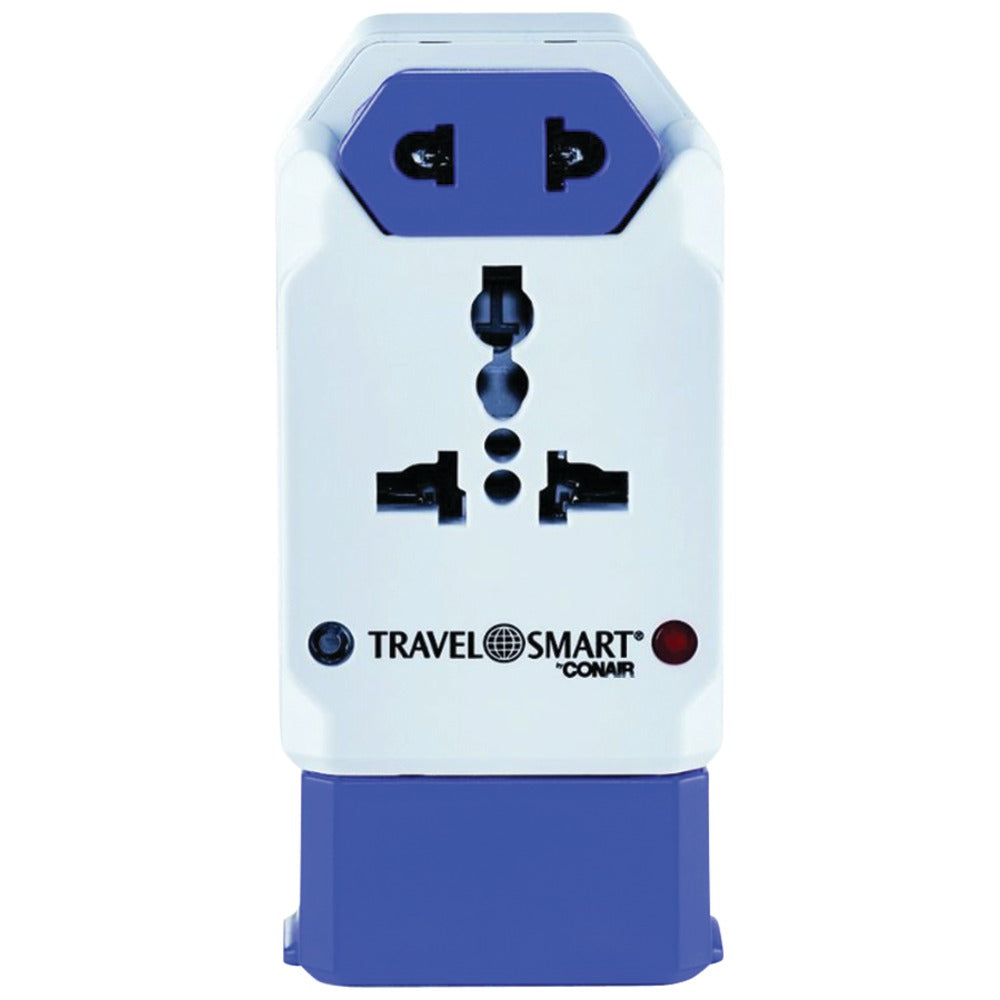 Travel Smart By Conair All-in-one Adapter With Usb