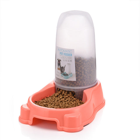 Image of Leave Your Home Without Them! Automatic Pet Feeder For Cats and Dogs Green Blue Pink