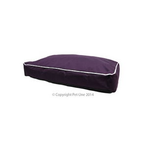 Bed Mat Futon Stay Dry 90x65x12cm Purple