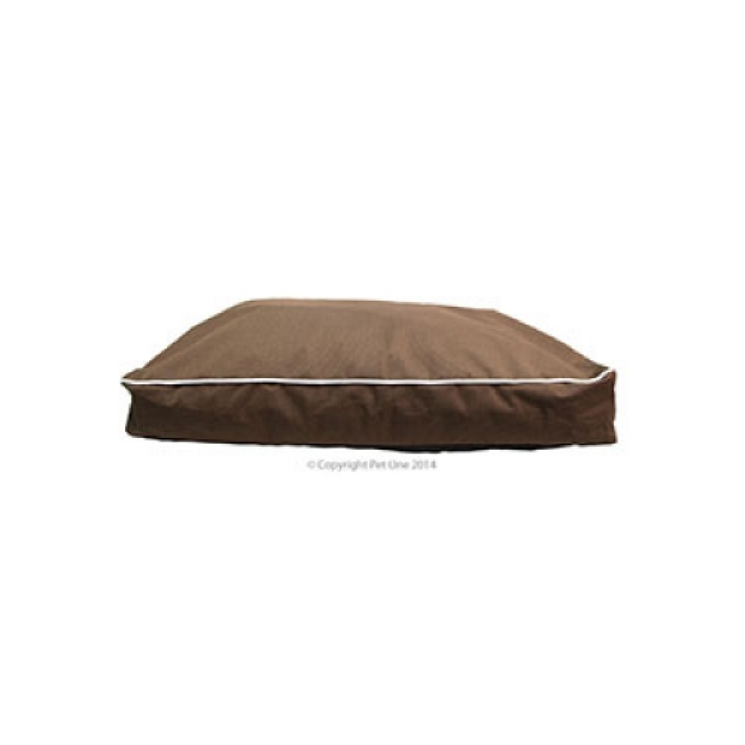Bed Mat Futon Stay Dry 70x50x12cm Brown