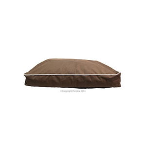 Bed Mat Futon Stay Dry 90x65x12cm Brown