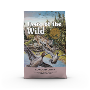 Taste of the Wild Grain Free - Lowland Creek Feline 2kg