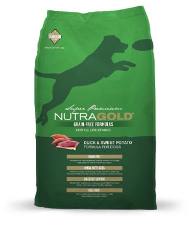NutraGold Grain-Free - Duck and Sweet Potato Canine (Super Premium) (13.6kg)