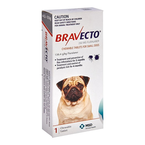 Bravecto Small Dog Orange 4.5-10Kg 1Pk