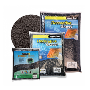 Decorative Gravel 2kg Black 7mm
