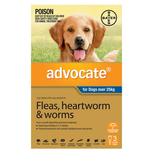 Advocate Dog Extra Large Grey Over 25Kg 3Pack