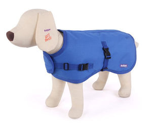 Reflective Nylon Coat M 46.5cm Blue