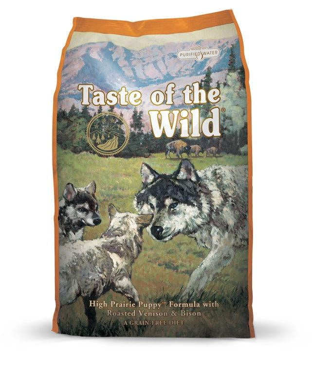 Taste of the Wild Grain Free - High Prairie Puppy (5.6kg)