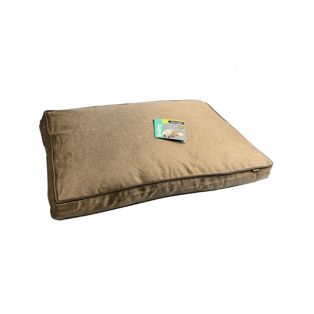 Bedding Mattress Linen 70x50x8cm Stone