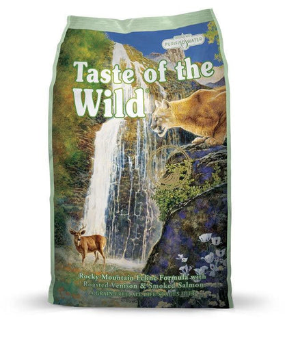 Taste of the Wild Grain Free - Rocky Mountain Feline (6.6kg)